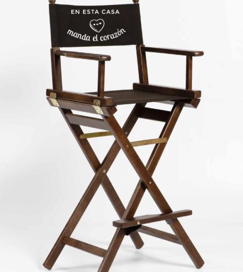 silla de director alta